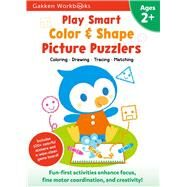 Play Smart Color and Shape Puzzlers 2+ by Gakken, 9784056300246