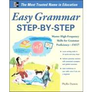 Easy English Grammar Step-by-Step With 85 Exercises by Dutwin, Phyllis, 9780071770248
