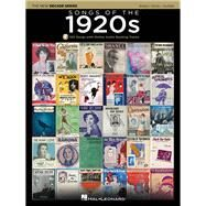 Songs of the 1920s: The New Decade Series With Optional Online Play-along Backing Tracks by Hal Leonard Publishing Corporation, 9781495000249