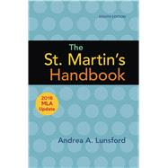 The St. Martin's Handbook with 2016 MLA update by Lunsford, Andrea A., 9781319120252