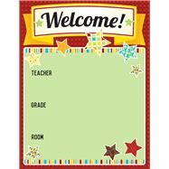 Hipster Welcome Chart by Carson-Dellosa Publishing Company, Inc., 9781483830254