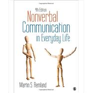 Nonverbal Communication in Everyday Life by Remland, Martin S., 9781483370255