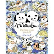 A Million Bears Beautiful Bears to Color by Mayo, Lulu, 9781454710257