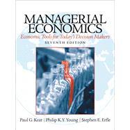 Managerial Economics by Keat, Paul; Young, Philip K; Erfle, Steve, 9780133020267