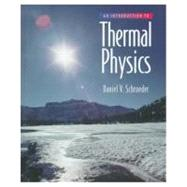 An Introduction to Thermal Physics by Schroeder, Daniel V., 9780201380279