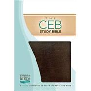 The CEB Study Bible: Common English Bible, Bonded Leather, Study Bible by Green, Joel B.; Bechtel, Carol M. (CON); Bellis, Alice Ogden (CON); Birch, Bruce C. (CON); Brown, Jeannine K. (CON), 9781609260279