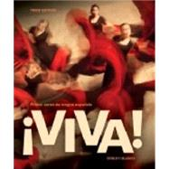 ¡Viva!, (Student Text & Supersite Plus Code (w/ WebSAM + vText) by DONLEY, 9781626800281