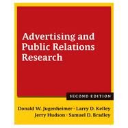 Advertising and Public Relations Research by Jugenheimer; Donald W, 9781138860285