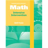 Houghton Mifflin Harcourt Math Intensive Intervention Skill Packs, Grade 3 by HSP, 9780153770289