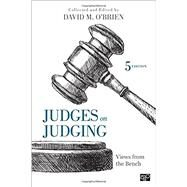 Judges on Judging by O'Brien, David M., 9781506340289