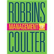 Management by Robbins, Stephen P.; Coulter, Mary A., 9780133910292