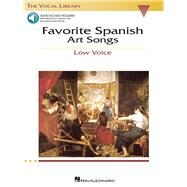 Favorite Spanish Art Songs by Walters, Richard (CRT), 9780634060298