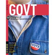 GOVT (with CourseMate Printed Access Card) by Sidlow, Edward I.; Henschen, Beth, 9781285870298