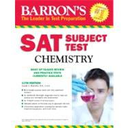 Barron's Sat Subject Test Chemistry by Mascetta, Joseph A., 9781438000299