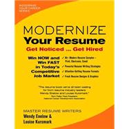 Modernize Your Resume by Enelow, Wendy; Kursmark, Louise, 9780996680301