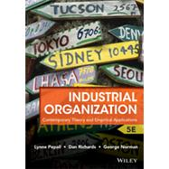 Industrial Organization by Pepall, Lynne; Richards, Dan; Norman, George, 9781118250303