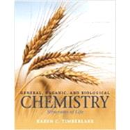 General, Organic, and Biological Chemistry: Structures of Life, Books a la Carte Plus MasteringChemistry with eText -- Access Card Package, 5/e by Timberlake, 9780133880304