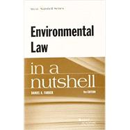 Environmental Law in a Nutshell by Farber, Daniel A., 9780314290304