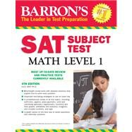 Barron's Sat Subject Test Math Level 1 by Wolf, Ira K., Ph.D., 9781438000305