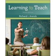 Learning to Teach by Arends, Richard, 9780078110306