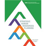 Strategic Human Resources Planning by Belcourt/McBey, 9780176570309