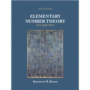 Elementary Number Theory by Rosen, Kenneth H., 9780321500311