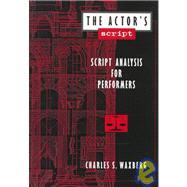 The Actor's Script 9780435070311R