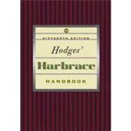 Hodges Harbrace Handbook by Glenn, Cheryl; Gray, Loretta; Webb, Suzanne Strobeck, 9781413010312