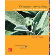 Computer Accounting with Sage 50 Complete Accounting Student CD-ROM by Yacht, Carol, 9781259350313