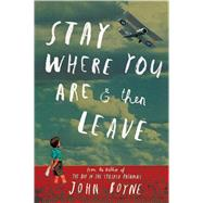 Stay Where You Are And Then Leave by Boyne, John; Jeffers, Oliver, 9781627790314