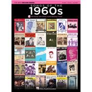 Songs of the 1960s: Piano-vocal-guitar by Hal Leonard Publishing Corporation, 9781495000324