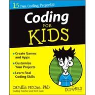 Coding for Kids for Dummies by McCue, Camille, Dr., Ph.D., 9781118940327