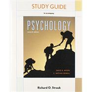 Study Guide for Psychology by Myers, David G., 9781464170331