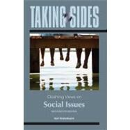 Taking Sides: Clashing Views on Social Issues by Finsterbusch, Kurt, 9780078050336