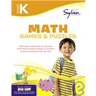 Kindergarten Math Games and Puzzles by SYLVAN LEARNING, 9780375430336
