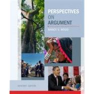 Perspectives on Argument by Wood, Nancy V.; Miller, James, 9780205060337