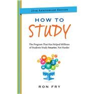 How to Study by Fry, Ron, 9781632650337