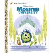 Monsters University Little Golden Book (Disney/Pixar Monsters University) by RH DISNEYRH DISNEY, 9780736430340