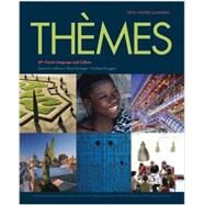 Th�mes AP� French Language and Culture Student Edition with Supersite PLUS (vText) Code by Vista Higher Learning, 9781680040340