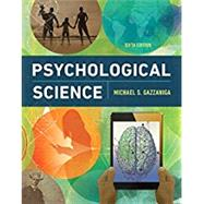 Psychological Science w/ Digital Product License Key Folder (eBook + InQuizitive) by Gazzaniga, Michael S., 9780393640342