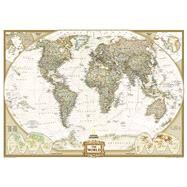 World Executive Wall Map by National Geographic Maps, 9780792230342