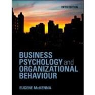 Business Psychology and Organizational Behaviour by McKenna; Eugene, 9781848720343