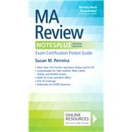MA Review Notesplus: Exam Certification Pocket Guide by Perreira, Susan M., 9780803640344