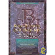 RVR 1960/KJV Bilingual Bible (Black Bonded Leather - Indexed) by Unknown, 9781558190344