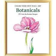 Color Your Own Wall Art Botanicals by Adams Media, 9781507200346