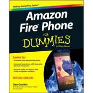 Amazon Fire Phone for Dummies by Gookin, Dan, 9781118810347