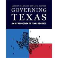 Governing Texas by CHAMPAGNE,ANTHONY, 9780393920352