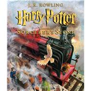 Harry Potter and the Sorcerer's Stone: The Illustrated Edition (Harry Potter, Book 1) The Illustrated Edition by Rowling, J.K.; Kay, Jim, 9780545790352