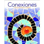Conexiones Comunicación y cultura Plus MySpanishLab (multi semester access) -- Access Card Package by Zayas-Bazán, Eduardo J.; Bacon, Susan; García, Dulce M., 9780205950355