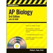 CliffsNotes AP Biology by Pack, Phillip E., 9780470400357